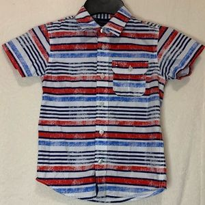 NWOT Red White & Blue Tommy Hilfiger Shirt- Size S